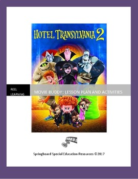 Hotel Transylvania 2: Movie Buddy, Lesson Plan and Activities