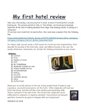 Hotel  review (Yelp) in French