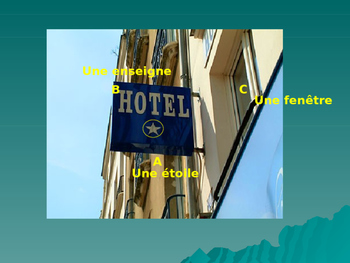 Hotel vocabulary in French