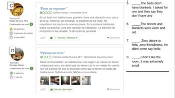 Hoteles - Malas revistas y quejas (Hotels - Bad reviews and complaints)