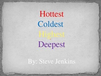 Hottest Coldest Highest Deepest