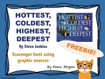 Hottest, Coldest, Highest, Deepest: Graphic Organizer