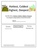Hottest, Coldest, Highest, Deepest Comparison Booklet