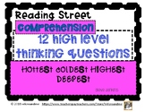 Hottest Coldest Highest Deepest Comprehension Questions