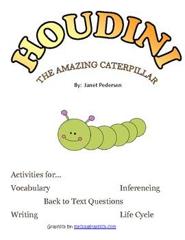 Houdini the Amazing Caterpillar Activities