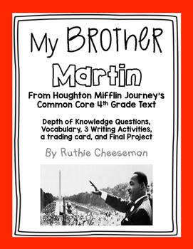Houghten Mifflin Journeys: My Brother Martin Unit