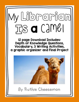 My librarian is a camel teaching resources teachers pay teachers houghten mifflin journeys my librarian is a camel fandeluxe Images
