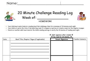 Houghton Mifflin 1st Grade Decodable Book Reading Logs - I Love Reading Books