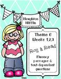 Houghton Mifflin 1st Grade Fluency {Theme 6} CCSS