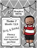 Houghton Mifflin 1st Grade Fluency {Theme 7} CCSS