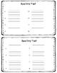 Houghton Mifflin 1st Grade Spelling Themes 3-10