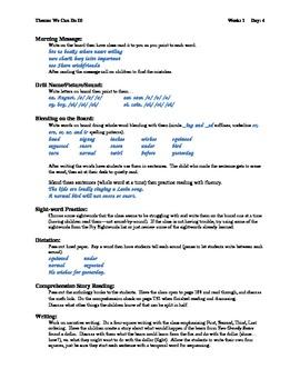 Houghton Mifflin 1st Grade Theme 10 with Explicit Phonics