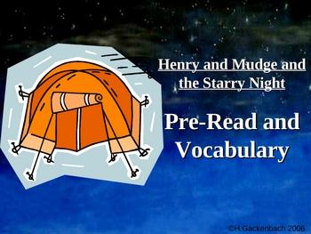 "Houghton Mifflin:  2nd Grade ""Henry and Mudge""  Vocab"