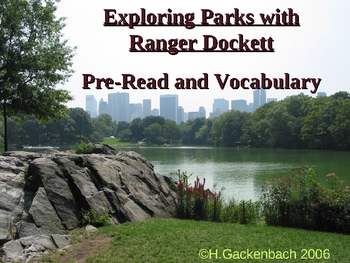 "Houghton Mifflin:  2nd Grade ""Ranger Dockett""  Vocab"