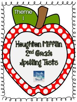 Houghton Mifflin 2nd Grade Spelling Tests - Theme 1
