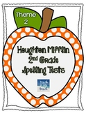 Houghton Mifflin 2nd Grade Spelling Tests - Theme 2