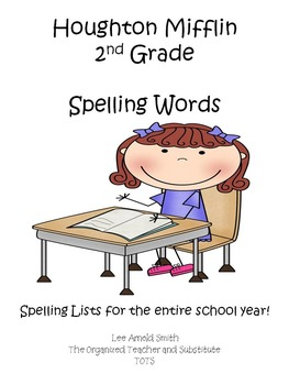 Houghton Mifflin 2nd Grade Spelling Words