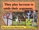 "Houghton Mifflin:  2nd Grade  ""The Great Ball Game""  Vocabulary"