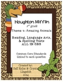 Houghton Mifflin 2nd Grade Theme 4 Reading, Language Arts, & Spelling Tests