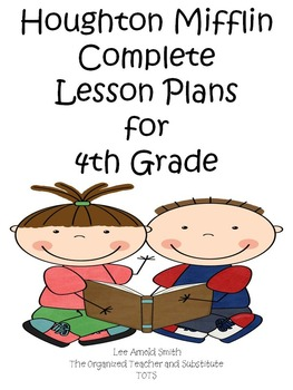 Houghton Mifflin 4th Grade Reading Lesson Plans