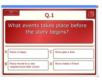 Houghton Mifflin 4th Grade Theme 4 Maria Isabel Student Activity