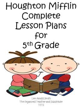 Houghton Mifflin 5th Grade Reading Lesson Plans