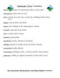 Houghton Mifflin 5th gr Vocabulary Words & Definitions; Th