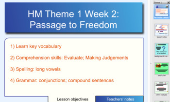 Houghton Mifflin 6th Gr. Theme 1 Lesson 2 Passage
