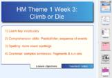 Houghton Mifflin 6th Gr. Theme 1 Lesson 3 Climb