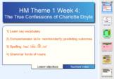 Houghton Mifflin 6th Gr. Theme 1 Lesson 4 Charlotte
