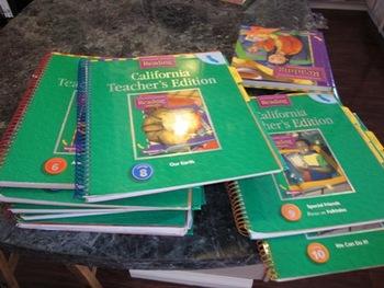 Houghton Mifflin CA Teacher's Edition Theme 1-10