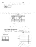 Houghton Mifflin Chapter 6 Graph Test