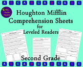 Houghton Mifflin Comprehension Sheets for Leveled Readers