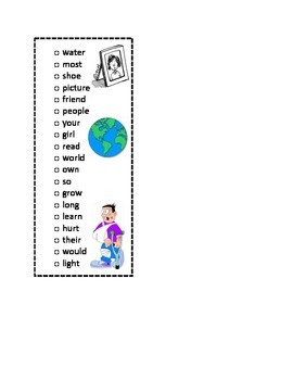 First Grade Sticker List