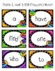 Houghton Mifflin First Grade High Frequency Words