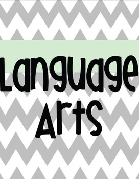 Houghton Mifflin First Grade Language Arts Binder cover, tabs, and spine TEAL!