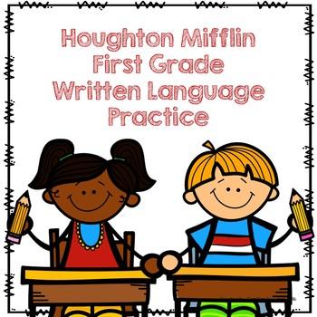 Houghton Mifflin First Grade Language Practice