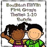 Houghton Mifflin First Grade Themes 1-10 Resource Pack Bundle
