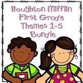 Houghton Mifflin First Grade Themes 1-5 Resource Pack Bundle
