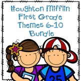 Houghton Mifflin First Grade Themes 6-10 Resource Pack Bundle