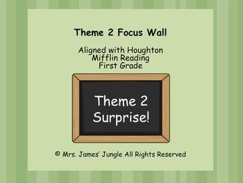 Houghton Mifflin Focus Wall Theme 2 First Grade