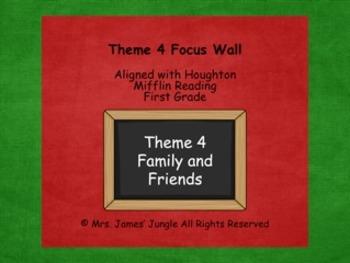 Houghton Mifflin Focus Wall Theme 4 First Grade