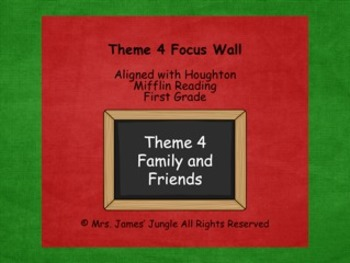 Houghton Mifflin Focus Wall Theme 4 First Grade