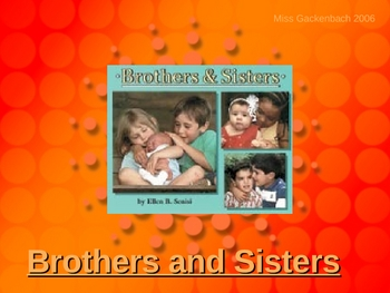 Houghton Mifflin Grade 2:  Brothers and Sisters vocab