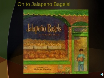 "Houghton Mifflin Grade 2:   ""Jalapeno Bagels"" Pre-Read/Vocab"