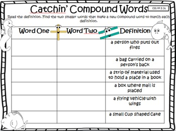 Houghton Mifflin Grade 3 Theme 2 Focus Wall and Common Core Centers