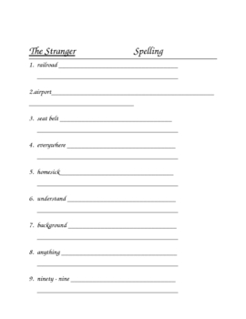 Houghton Mifflin Grade 4 Theme 3 Skills Focus Packet ./ Portfolio