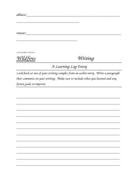 Houghton Mifflin Grade 4 Theme 6 Skills Focus Packet / Portfolio