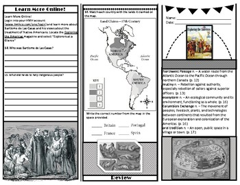 Houghton Mifflin *HMHCO* Social Studies 5th Grade -Exploring the Americas Mag. 7