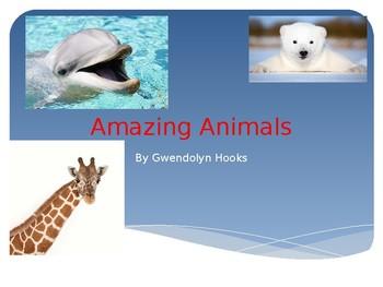 Houghton Mifflin Harcourt Amazing Animals Journeys Grade 1 power point